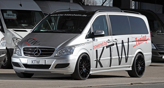 mercedes benz viano minivan powered up courtesy of ktw. Black Bedroom Furniture Sets. Home Design Ideas