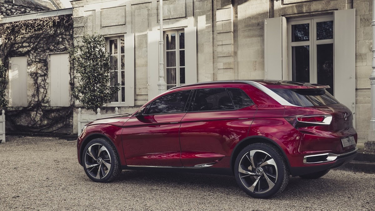 Citroen Unveils Ds Wild Rubis Concept Says Hints At Future Luxury Suv 60 Photos Videos Carscoops