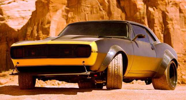 Bumblebee Looks Sweet Dressed Up As A 1967 Camaro Ss For