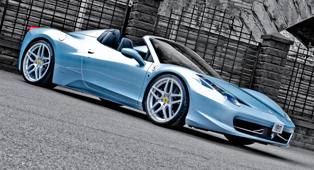 Kahn Tunes Ferrari 458 Spider Out Of The Blue Carscoops