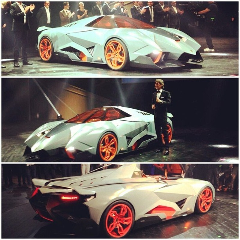 New Super Edgy Lamborghini Egoista Concept Makes The Veneno Look