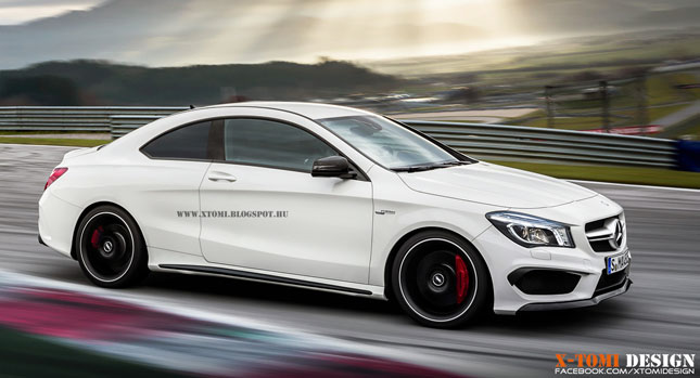 Superb What If The New Mercedes Benz CLA Was A Proper Coupe?