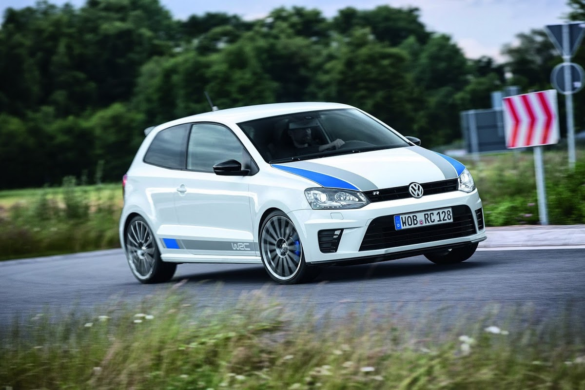 Vw Drops New Photos Of 217hp Polo R Wrc Limited Production