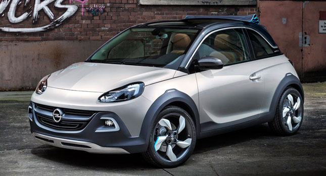 opel adam cabrio announcement is imminent report says. Black Bedroom Furniture Sets. Home Design Ideas