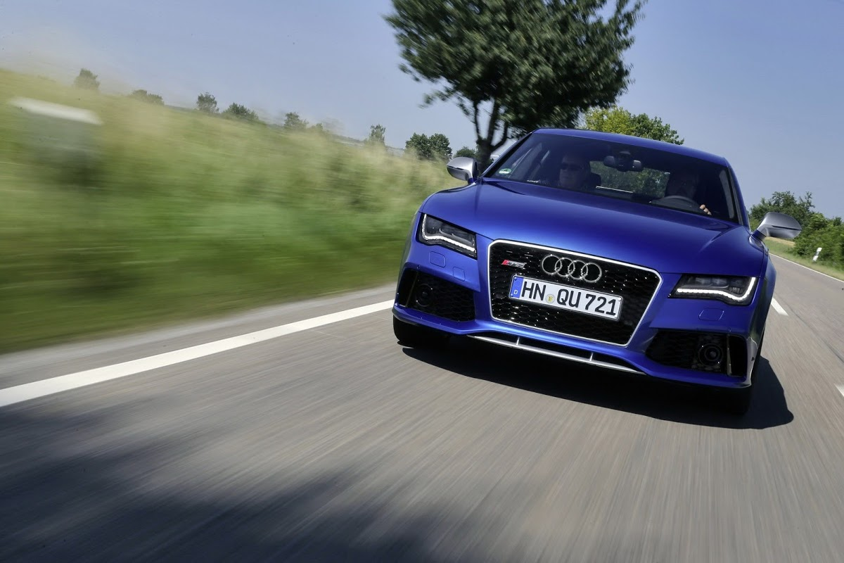 Audi Rs7 0 60 >> New Audi RS7 Roars to the States Priced from $104,900