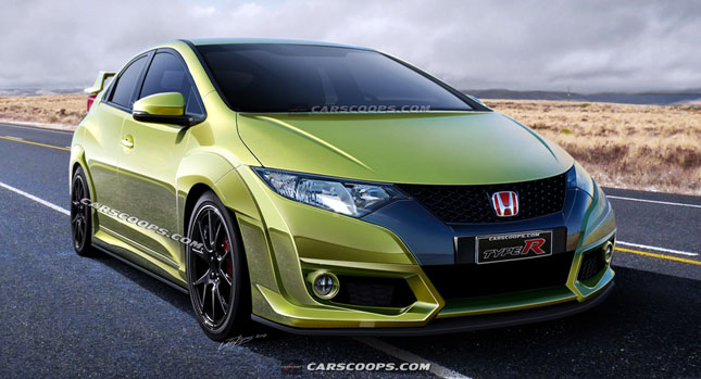 future cars new 2015 honda civic type r with close to 300hp. Black Bedroom Furniture Sets. Home Design Ideas