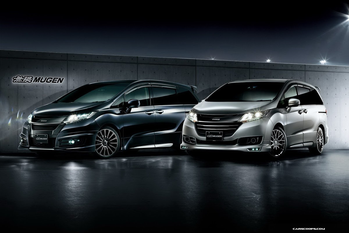 New Jdm 2014 Honda Odyssey Worked Out By Mugen 48 Photos