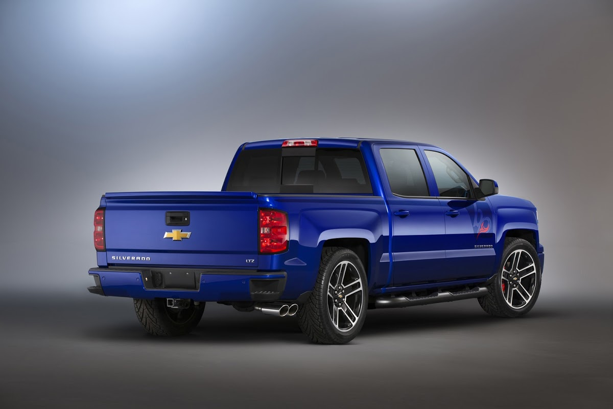 Chevrolet Reveals its Pimped Trucks for SEMA, Including New 2015 Tahoe and Suburban | Carscoops