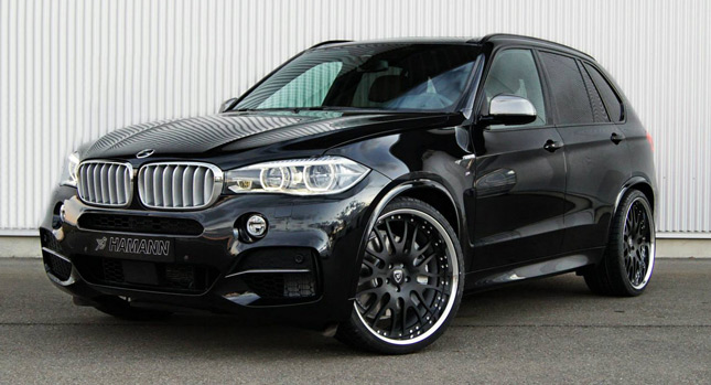 Hamann Wheels Up The Bmw X5 F15 Carscoops