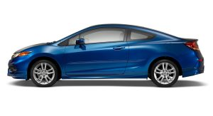 2014 Civic EX-L Coupe with Genuine Honda Accessories