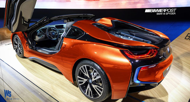 Bmw Reportedly Approves I8 Spyder For Production In Late 2015