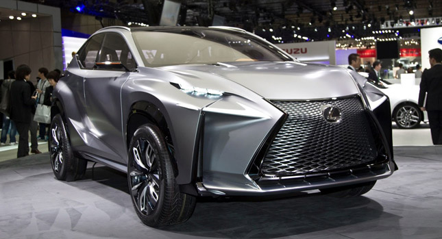 lexus said to bring production version of lf nx to 2014 geneva motor show carscoops. Black Bedroom Furniture Sets. Home Design Ideas