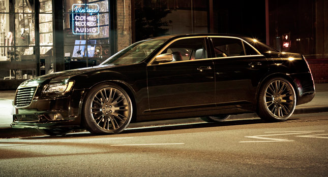 chrysler brings back 300c john varvatos limited edition for 2014my with optional awd carscoops. Black Bedroom Furniture Sets. Home Design Ideas