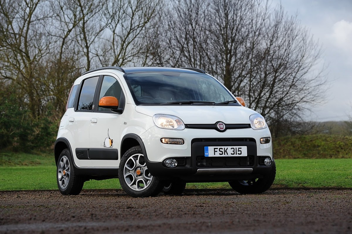 new fiat panda 4x4 antarctica arrives in the uk with. Black Bedroom Furniture Sets. Home Design Ideas