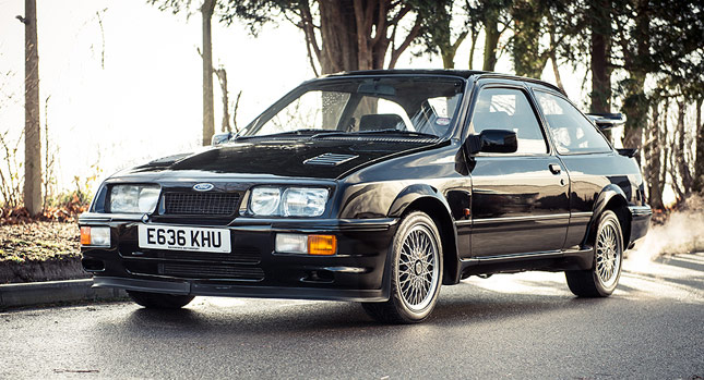 1987 Ford Sierra Cosworth RS500 is a Blast from the Past