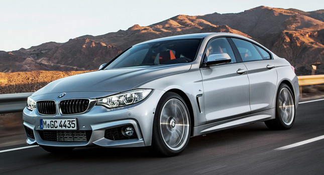 New 2015 BMW 4 Series Gran Coupe Officially Revealed 131 Photos Videos