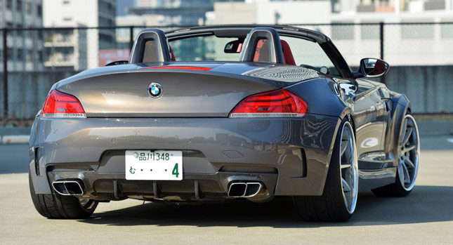 Wide Body Tune For Bmw Z4 E89 Hardtop Roadster Carscoops