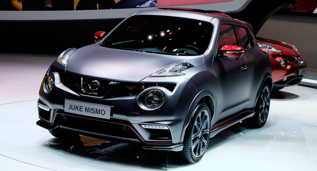 Facelifted Nissan Juke Nismo RS Gets A Power Boost As Well For Europe