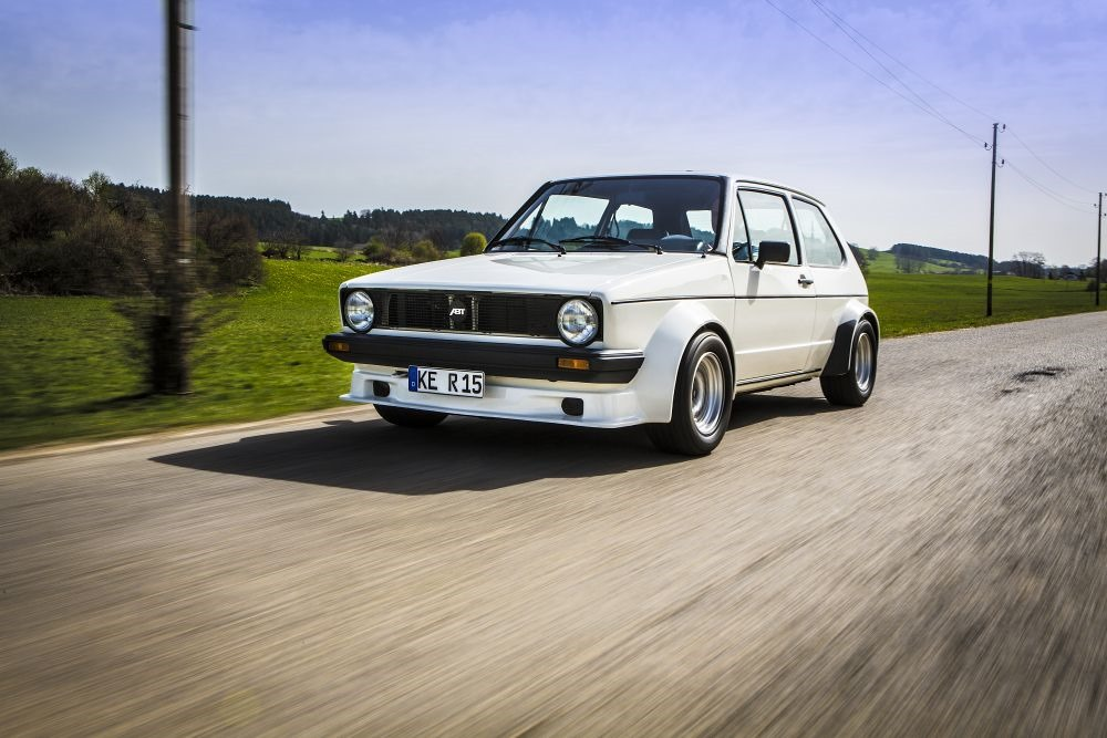Abt Says Happy Birthday To Vw Golf By Remembering Its