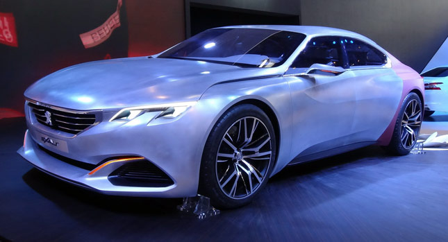 Peugeotu0027s Exalt Four Door Coupe Concept Is A Pretty Thing [47 Photos] |  Carscoops