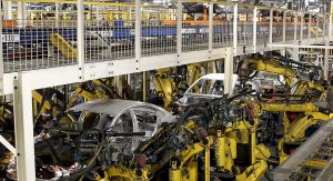 2012 Chevrolet Cruze on the production line at Lordstown Assembly in Lordstown, Ohio.