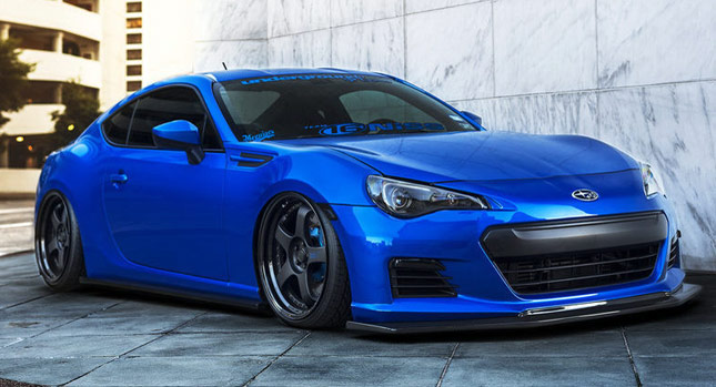 Boosted Subaru BRZ HRDPRKR SEMA Show Stopper for Sale [w ...