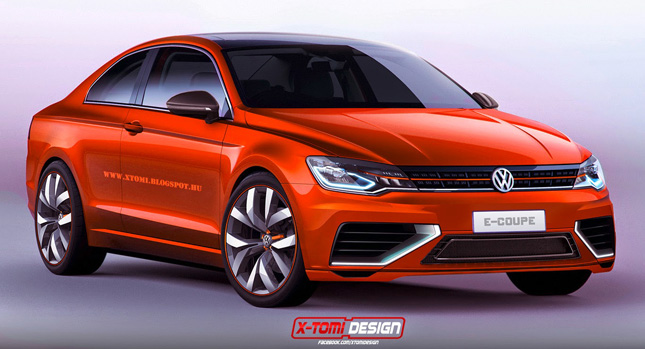Should VW Make a Real Two-Door Version of the Midsize Coupe Concept? : door cars - pezcame.com