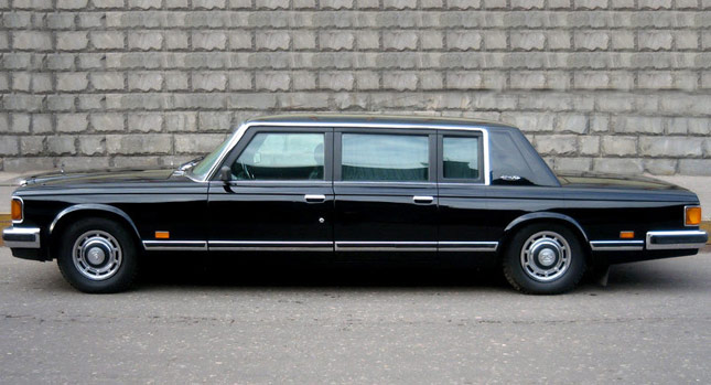 buy 1989 zil 41052 armored limousine used by gorbachev and yeltsin for 1 2 million carscoops. Black Bedroom Furniture Sets. Home Design Ideas