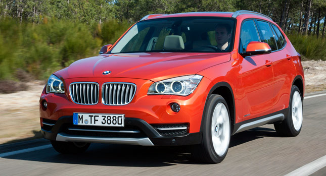 next generation bmw x1 may get an m version carscoops. Black Bedroom Furniture Sets. Home Design Ideas
