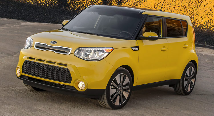 kia unnoticeably updates us market soul for 2015 model. Black Bedroom Furniture Sets. Home Design Ideas