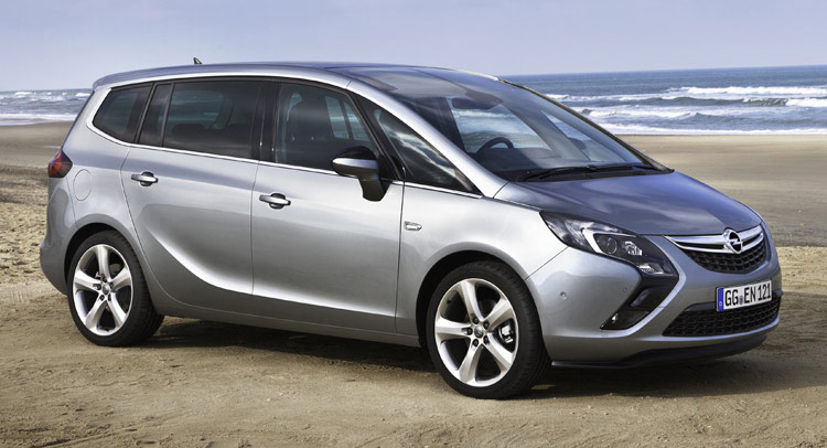 Opel Zafira Tourer Gets New 16 Cdti Entry Level Diesel With 118hp