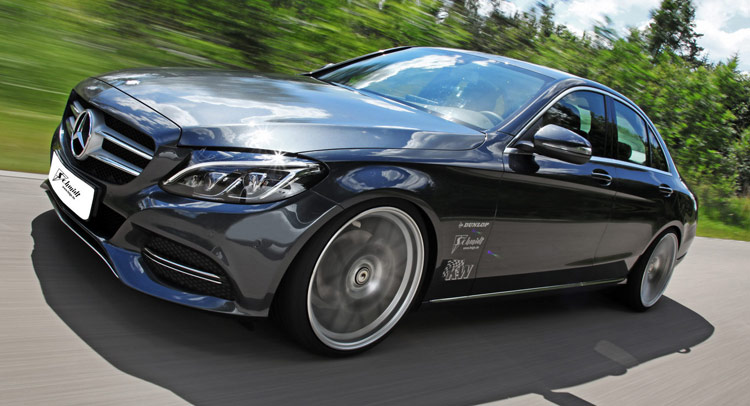 Lightly Tuned New Mercedes Benz C Class Looking Good Carscoops