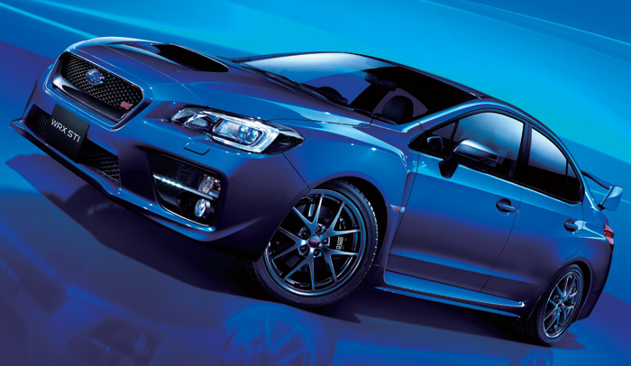 Japan's Subaru WRX STI Gets 304HP from a 2 0-Liter Turbo Engine