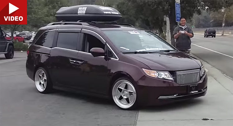 This Honda Odyssey Minivan Doesn T