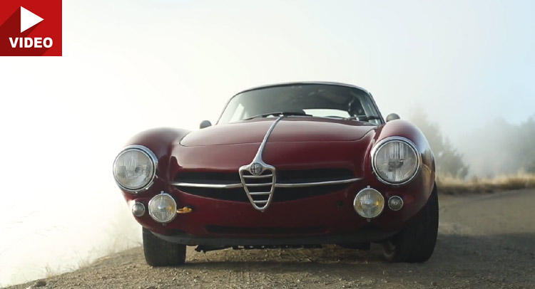1965 alfa romeo giulia sprint speciale is a badass racer carscoops. Black Bedroom Furniture Sets. Home Design Ideas