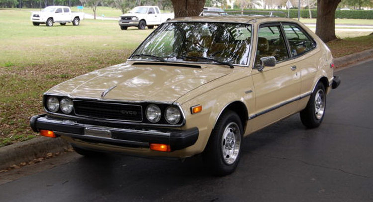 1979 Honda Accord Cvcc Is A An Ebay Time Traveler Carscoops