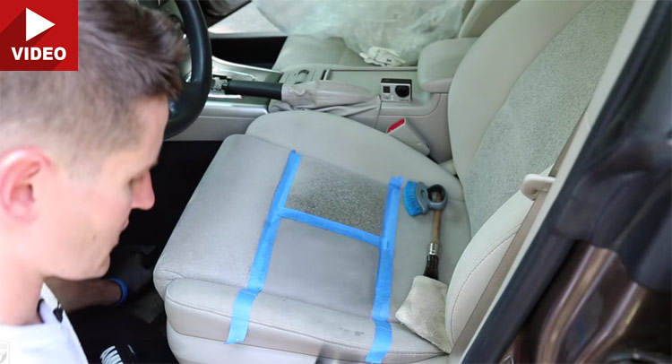 Pro Shares Tricks On How To Clean Cloth Seats Carscoops