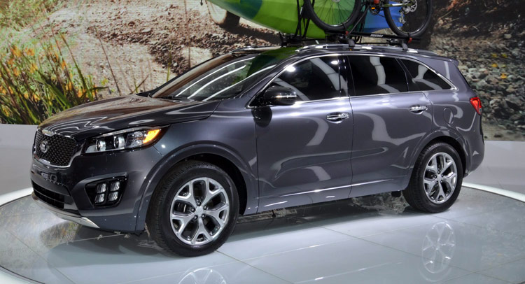 2016 Kia Sorento Has Its North American Debut In Los Angeles