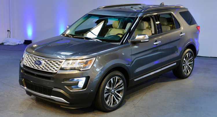 2016 ford explorer gets a new face, 2.3l ecoboost engine and