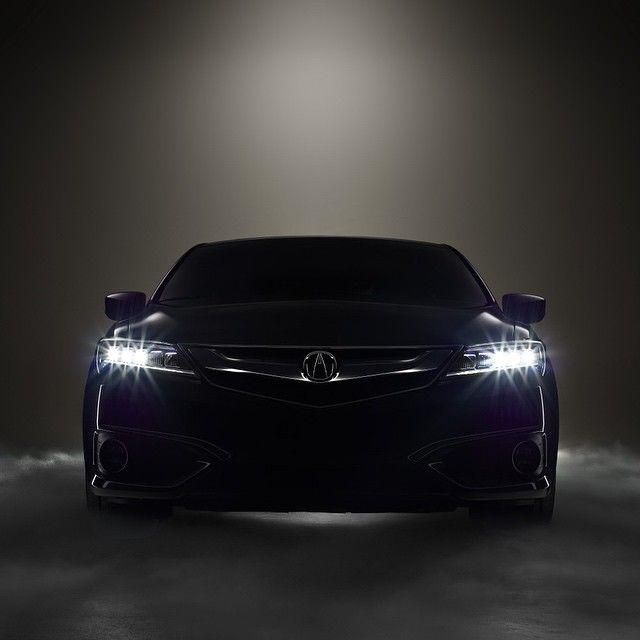 Is This The Almost Beakless Face Of The 2016 Acura ILX