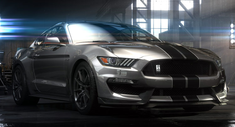 New 2016 Ford Mustang Shelby GT350 Has More Than 500HP [w/Video] | Carscoops