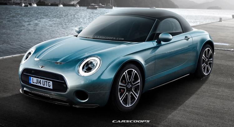Future Cars: Mini Superleggera Roadster in Production Clothing Eyes ...