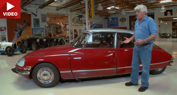 Jay leno explains his deep appreciation for citroen s for Garage ds auto ouistreham