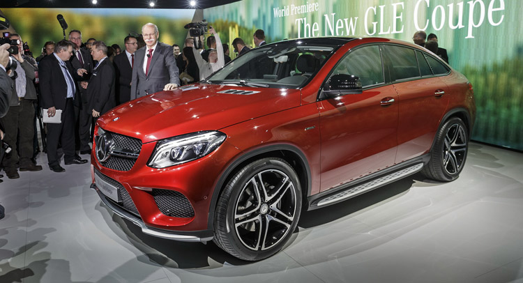 new mercedes gle 450 amg coupe lands in detroit with twin. Black Bedroom Furniture Sets. Home Design Ideas