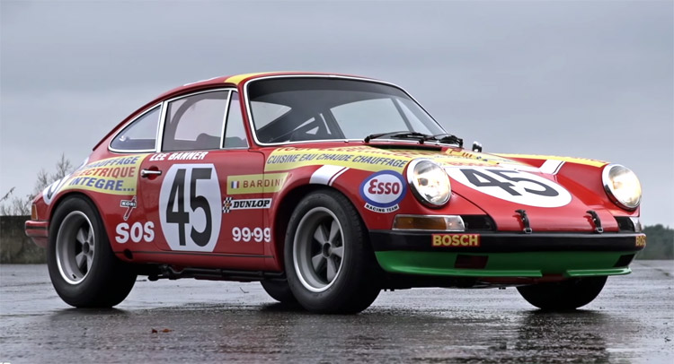 1969 Porsche 911 S Rally Car Is A Hoot To Drive W Video Carscoops