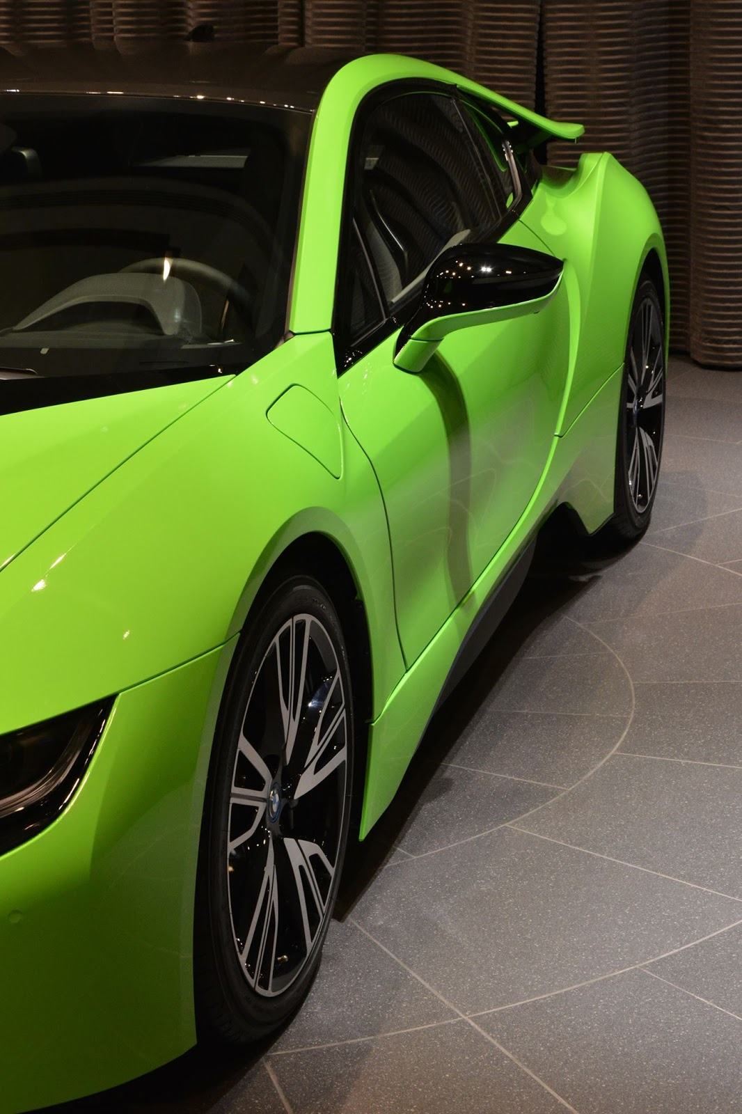 Ever Seen A Lime Green Bmw I8 Before Carscoops