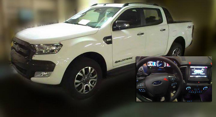 Ford Started Teasing The Facelifted 2015 Ranger Truck Through A Video Late Last Year When It Revealed Exterior But We Now Have Some New Spy Shots