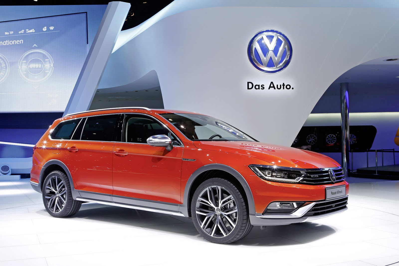 Passat Alltrack Usa >> Volkswagen Launches Jacked Up 4wd Passat Wagon Carscoops