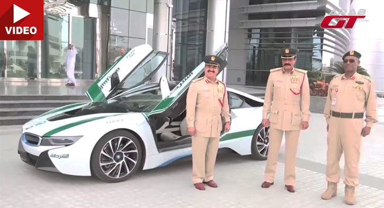 With The Bmw I8 Dubai Cops Can Be Both Green And Fast Carscoops