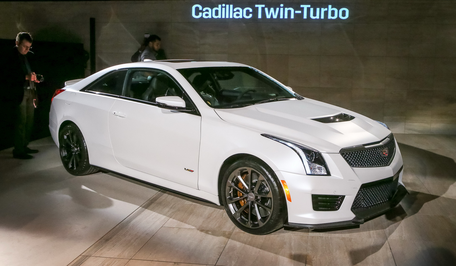 cadillac ats   hp hits     seconds carscoops